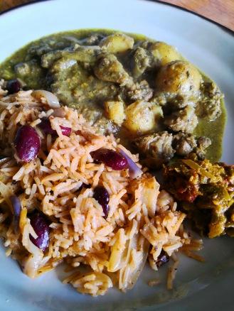 Caribbean curry